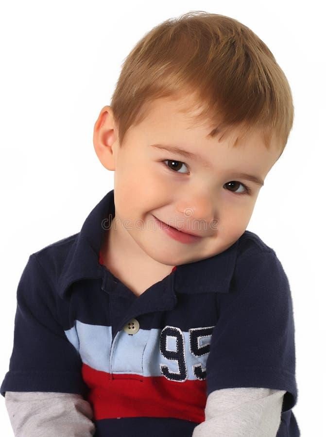 男孩老两年 免版税库存图片