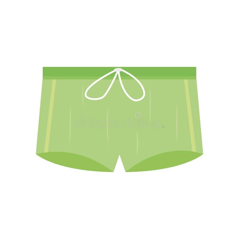 男性内裤内衣传染媒介 向量例证