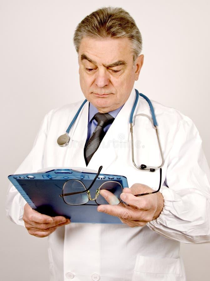 男性医生 库存照片