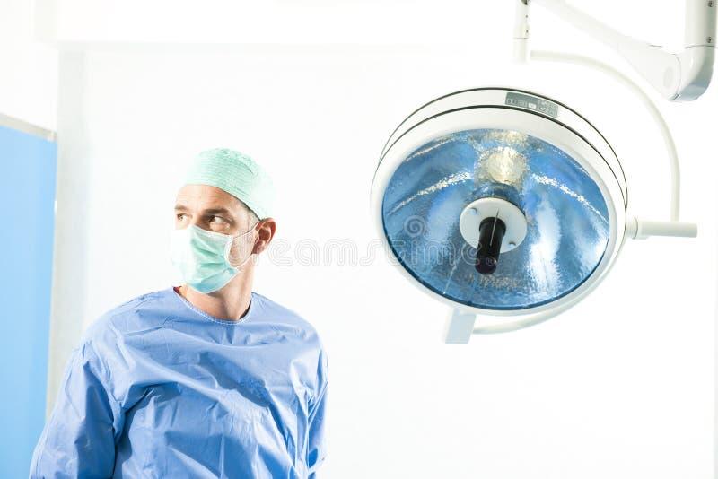 男性外科医生 免版税图库摄影