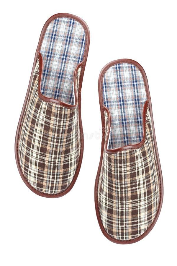 男性拖鞋 图库摄影