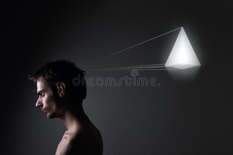 男性模型概念照片  免版税图库摄影