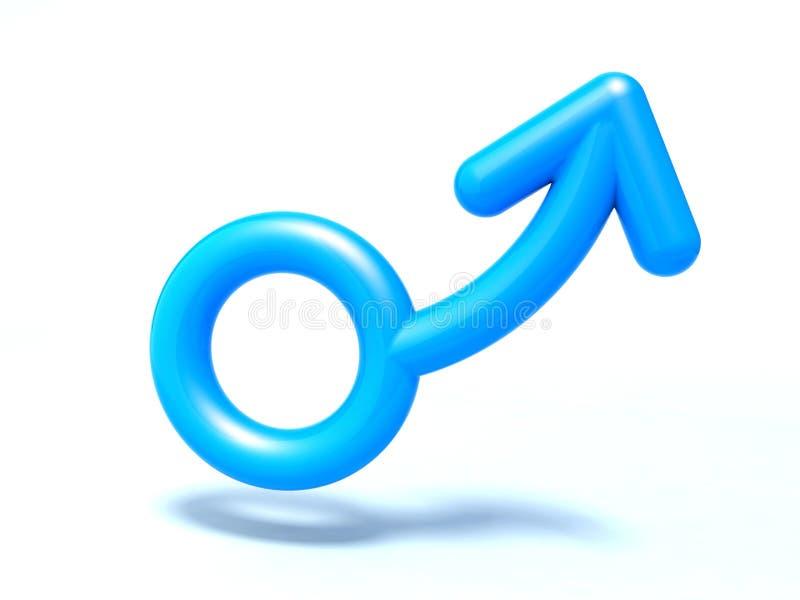男性符号 向量例证