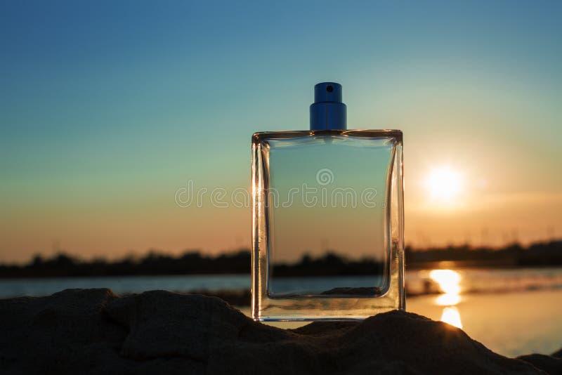 男性香水 免版税库存图片