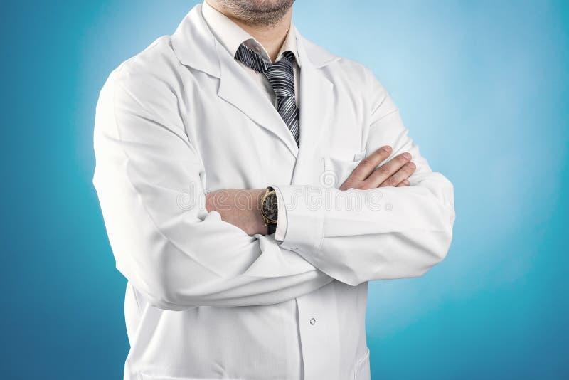 男性医生 免版税库存图片