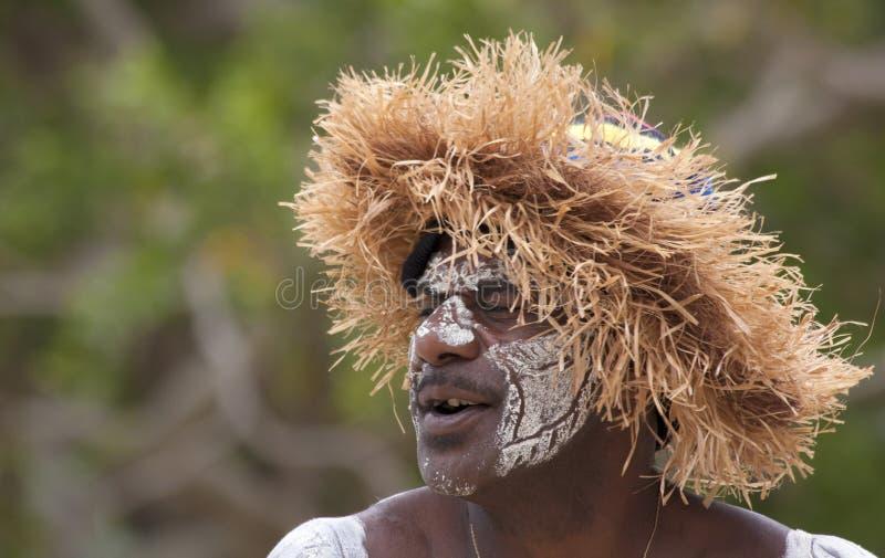 男性Kanak舞蹈家5 库存图片