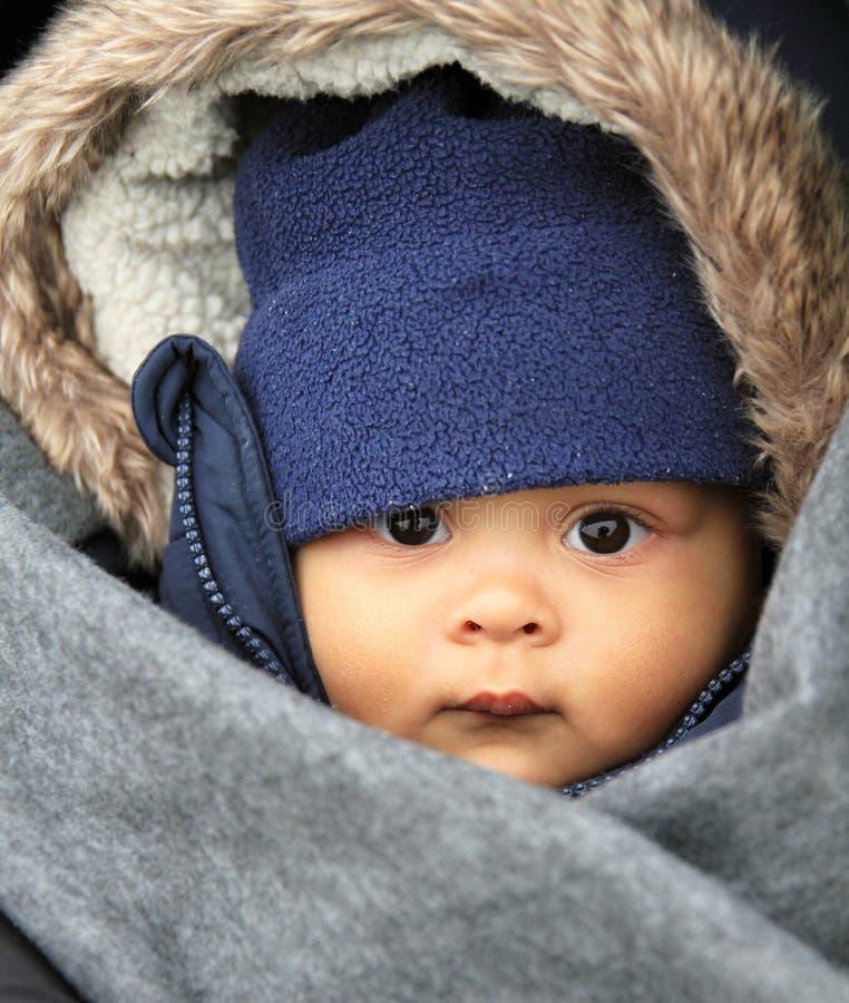 男婴dof表面浅微笑 免版税库存图片