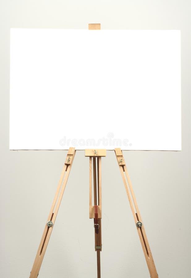 画布白色 库存照片