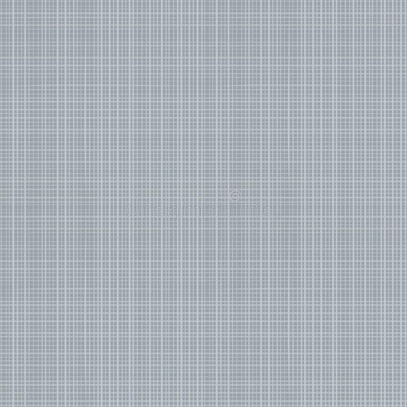 画布织品灰色无缝的纹理 向量例证