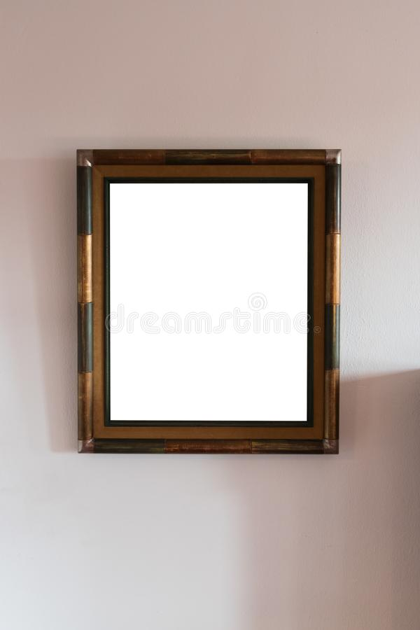 画框空白 库存图片