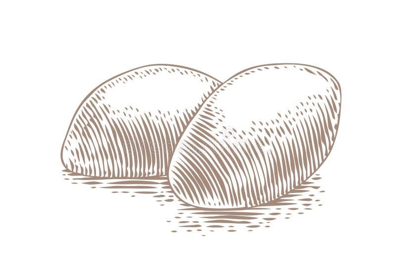 画烤饼 免版税图库摄影