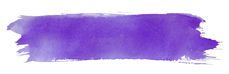画笔油漆冲程紫罗兰 免版税库存照片