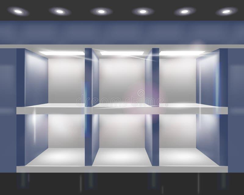 界面橱窗 向量例证