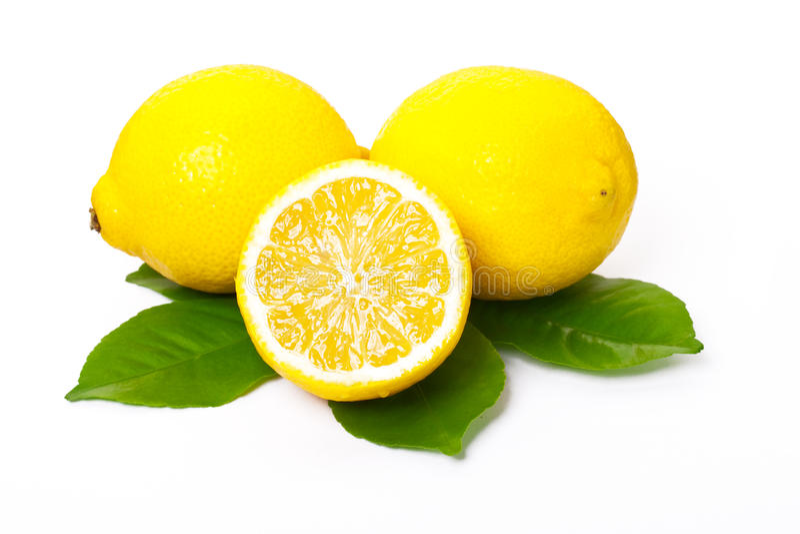 留下柠檬柠檬 免版税图库摄影