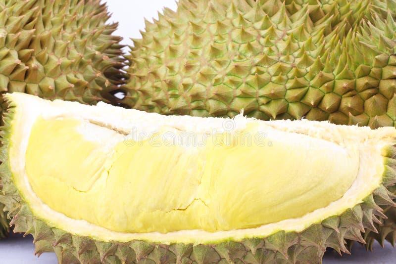 留连果星期一皮带是果子留连果和留连果被剥皮的果子板材热带留连果的国王在白色背景健康留连果frui的 库存照片