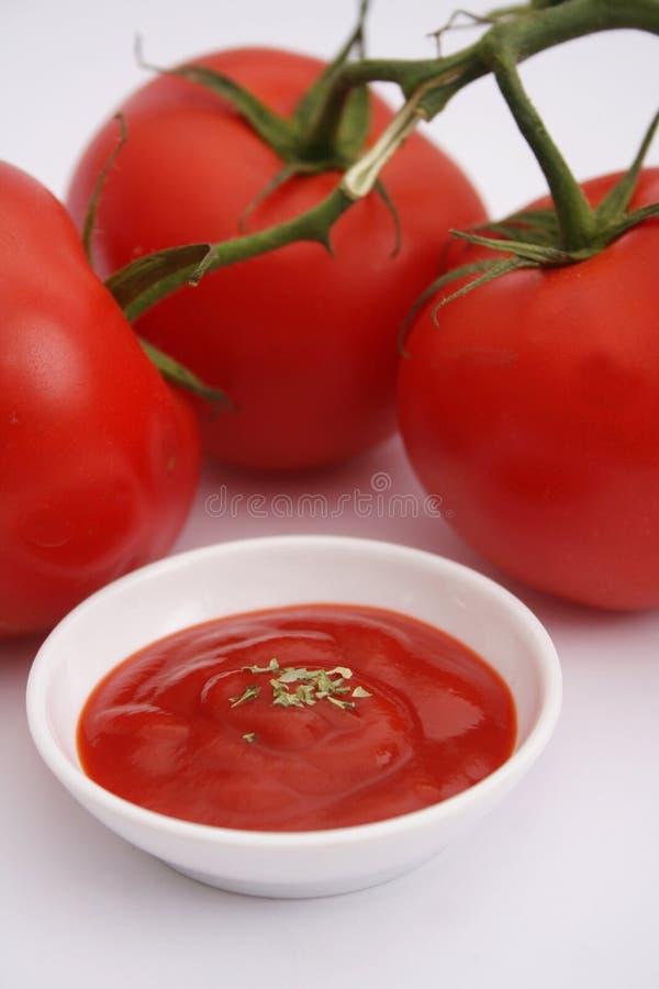 番茄酱 免版税库存照片