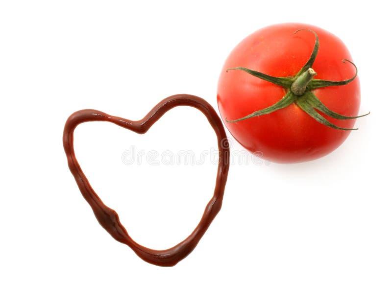 番茄酱 图库摄影