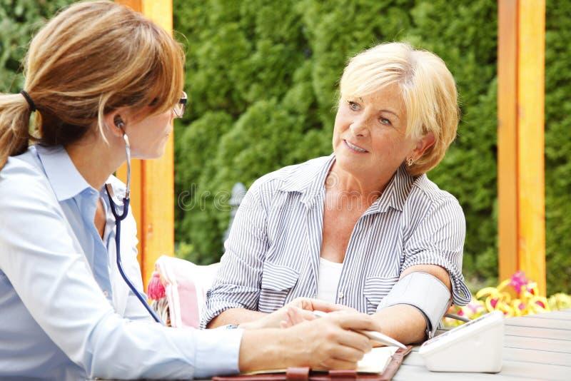 医疗保健在家 免版税库存图片
