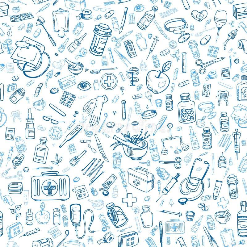 医疗保健标志 向量例证