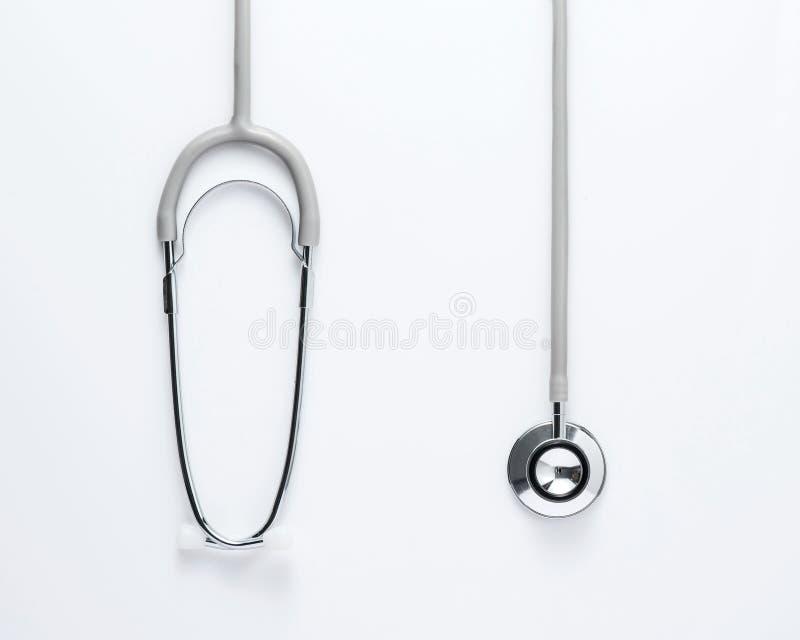 医疗听诊器 免版税库存照片