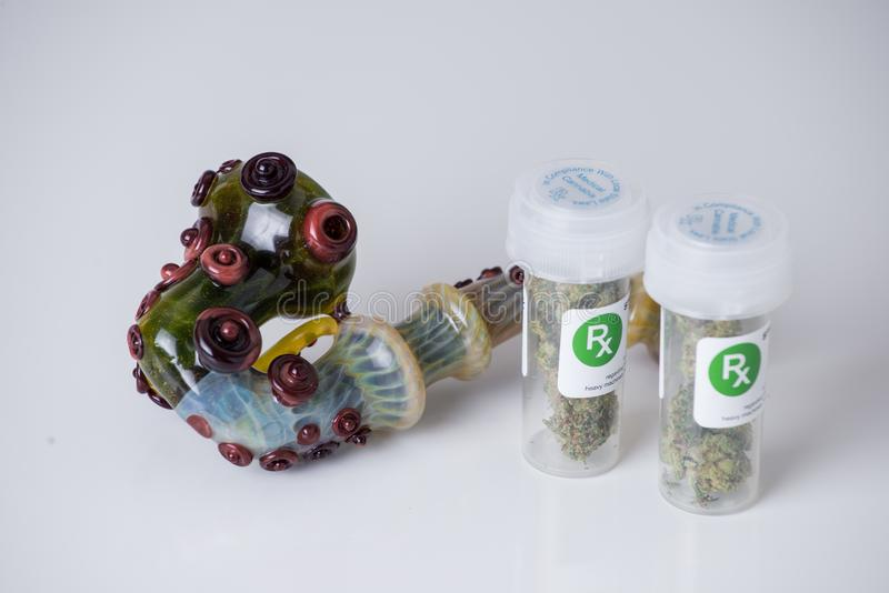 医疗大麻规定 免版税库存照片