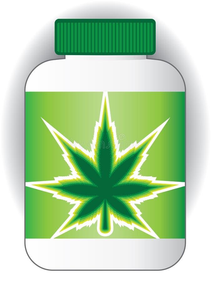 医疗大麻 皇族释放例证