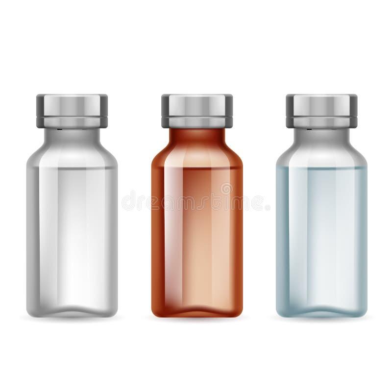 医疗小瓶 皇族释放例证