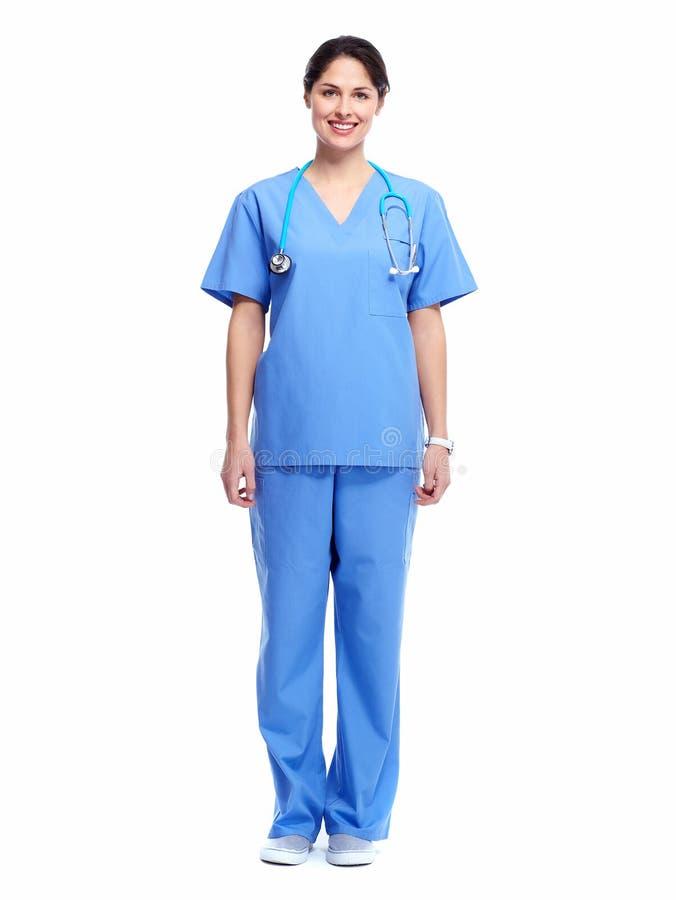 医疗护士。 免版税库存图片