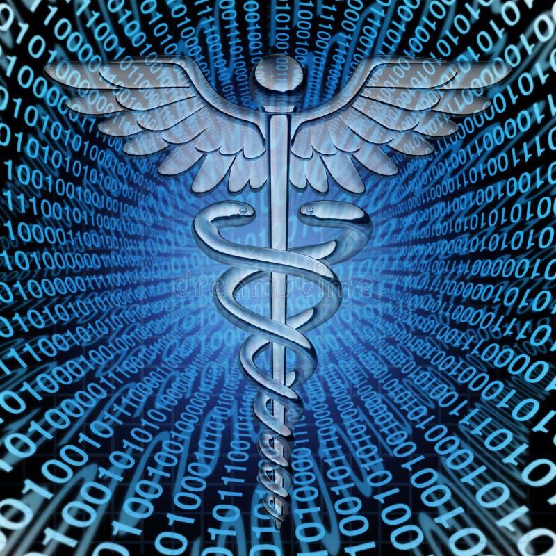 医疗数据 向量例证