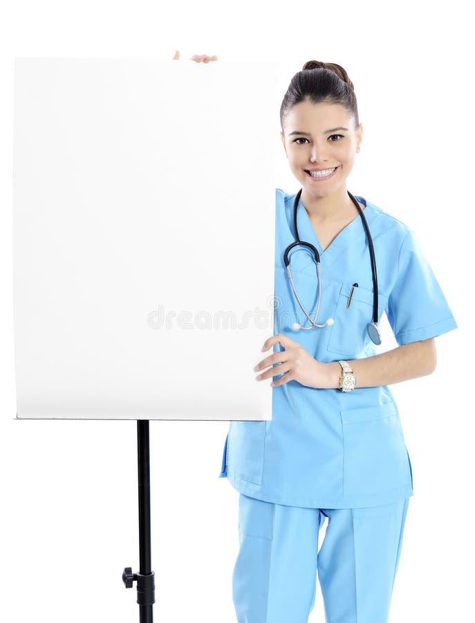 医疗标志护士 免版税库存照片