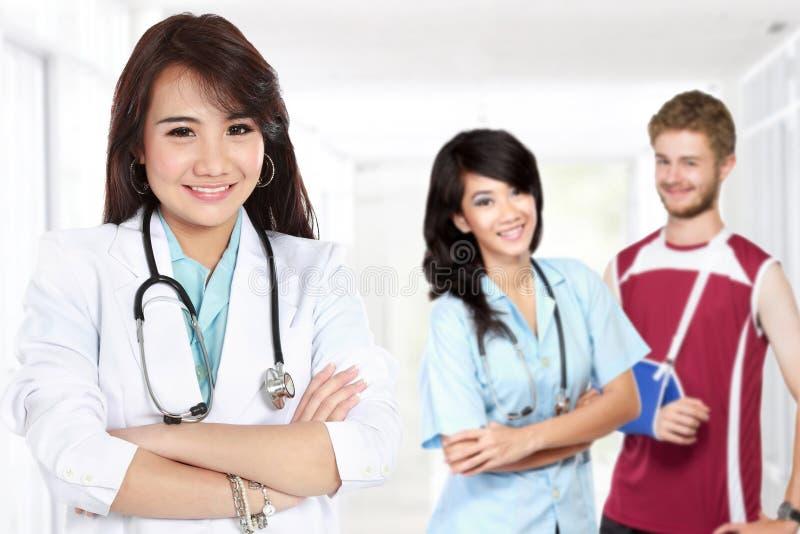 医疗生理治疗师 库存图片