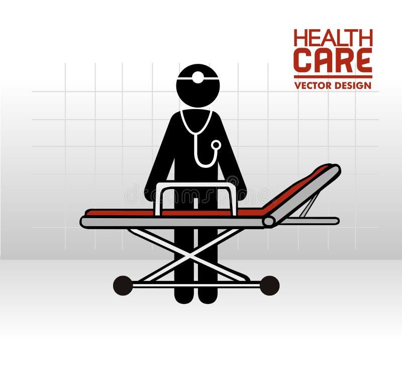 医疗设计 向量例证