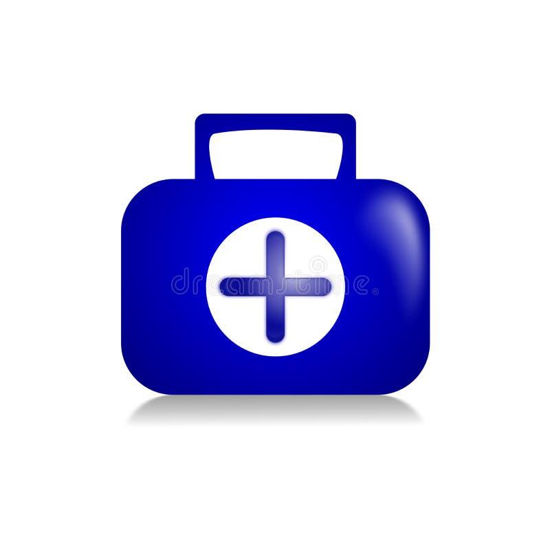 医疗配件箱 免版税图库摄影