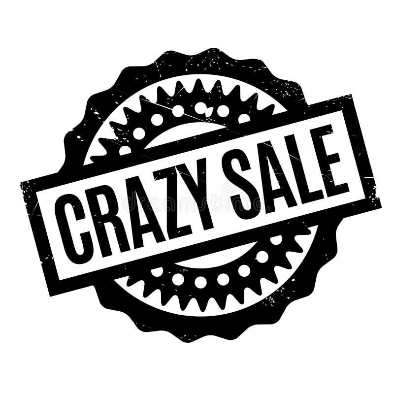 疯狂的销售不加考虑表赞同的人 向量例证