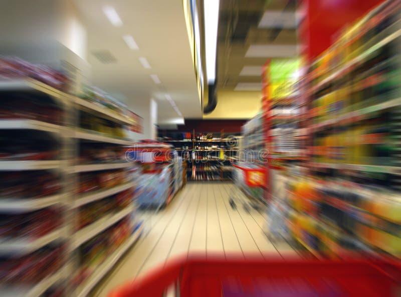 疯狂购物 库存图片