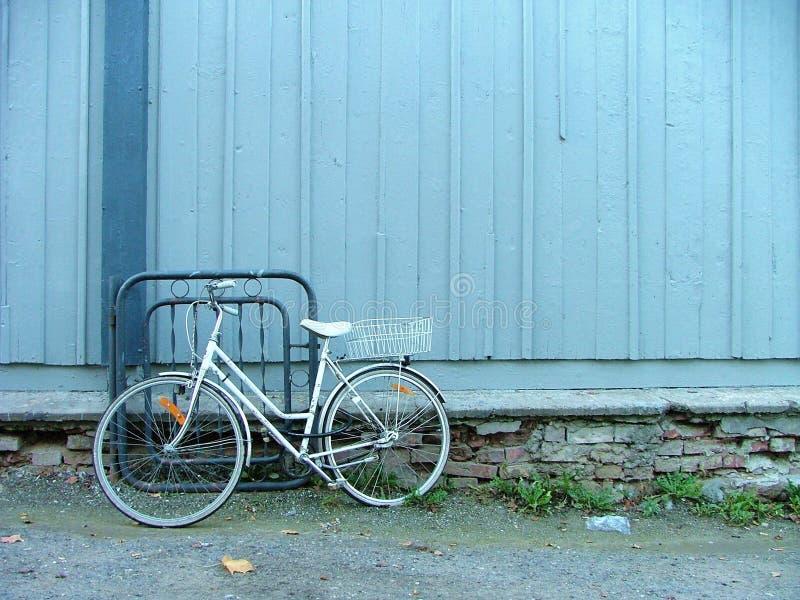 疲倦的自行车 库存照片