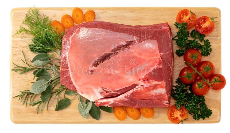 瘦肉 库存图片