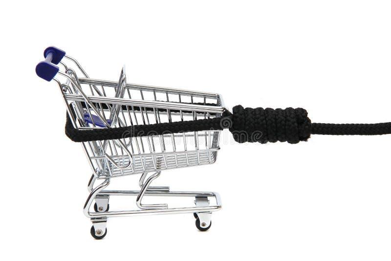 瘾购物 免版税库存照片