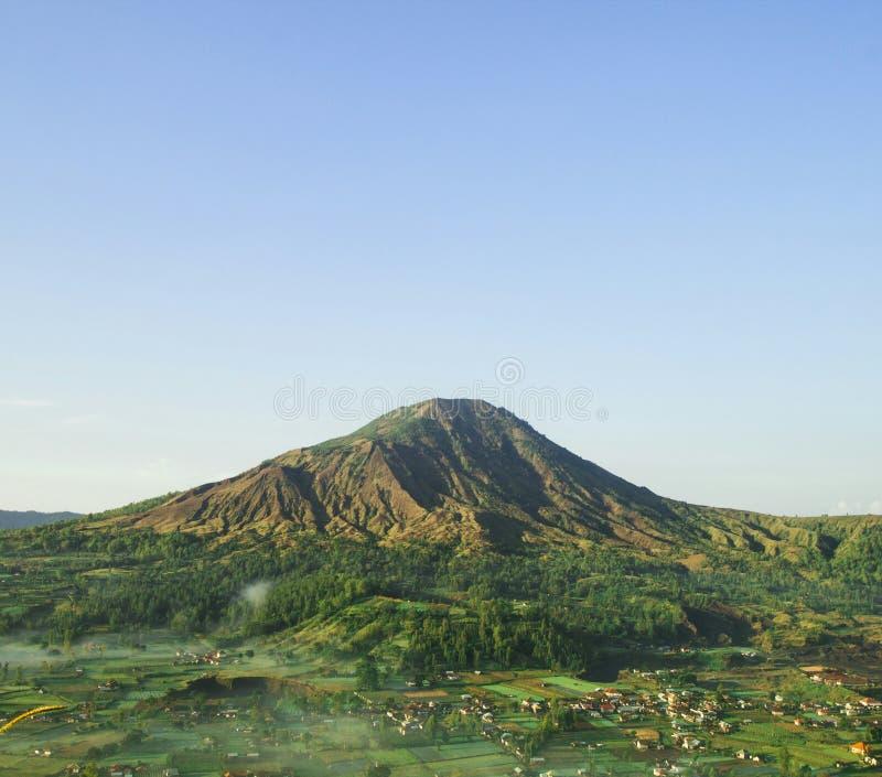 登上Batur Kintamani 巴厘岛 印度尼西亚 免版税库存图片