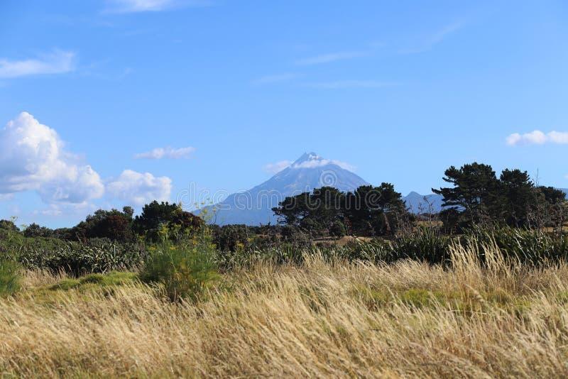 登上taranaki在新西兰 库存照片