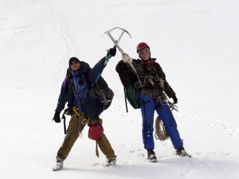 登山家二 免版税库存图片