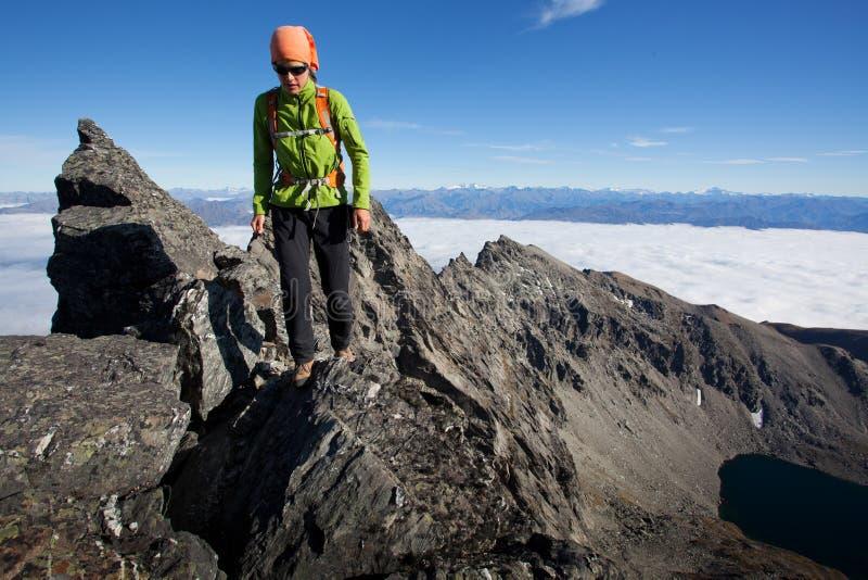登山 免版税库存照片