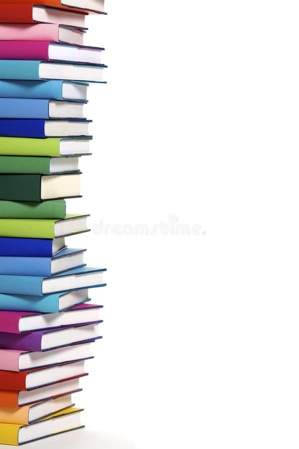 登记五颜六色的堆 免版税库存照片
