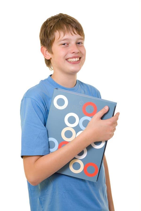 登记五颜六色的微笑的学员 库存图片