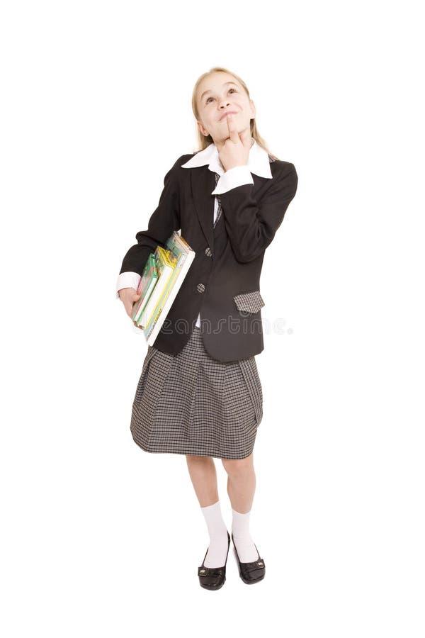 登记女孩 免版税库存图片