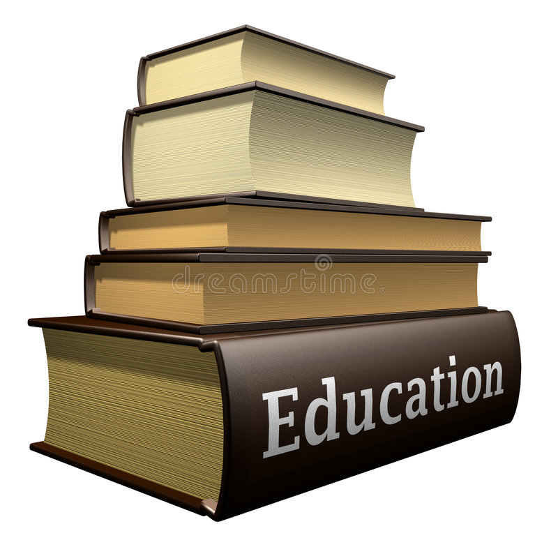 登记教育 库存例证