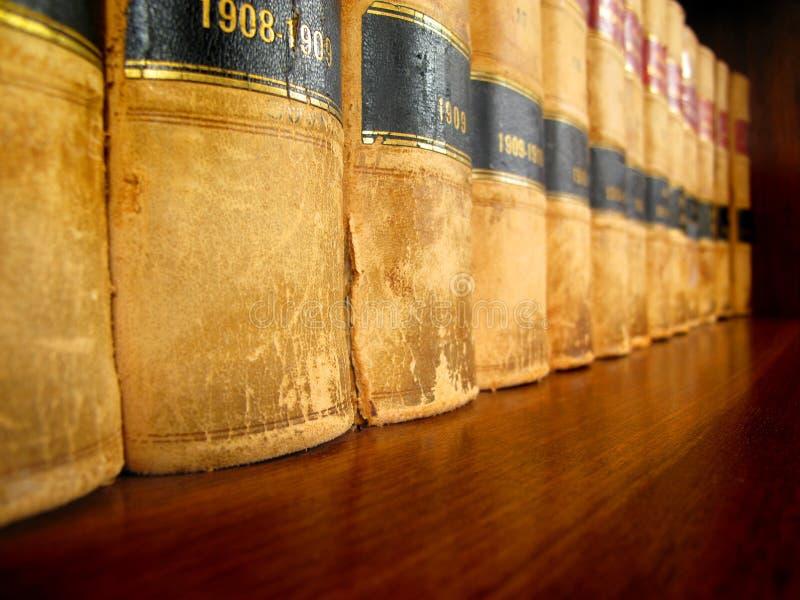 登记法律架子 库存图片