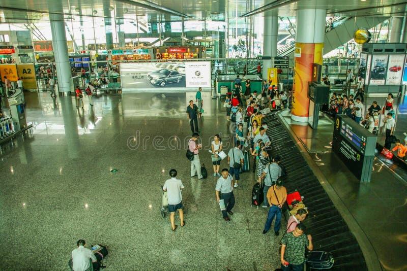 白云队山机场在广州,瓷 免版税库存图片