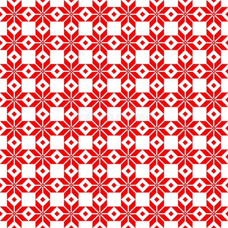 白俄罗斯人神圣的种族装饰品,无缝的样式 也corel凹道例证向量 斯洛文尼亚传统样式装饰品 无缝的backgr 免版税库存图片