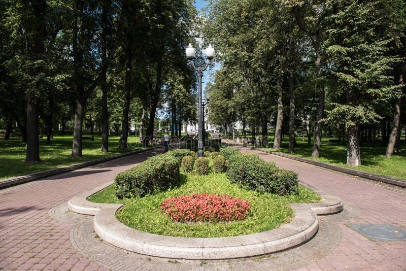 白俄罗斯的国家歌剧院和芭蕾 库存图片